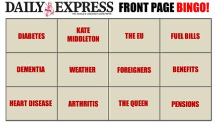 express-cover-bingo